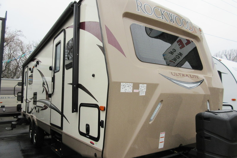 2017 Forest River Rockwood Ultra Lite Travel Trailers 2604WS