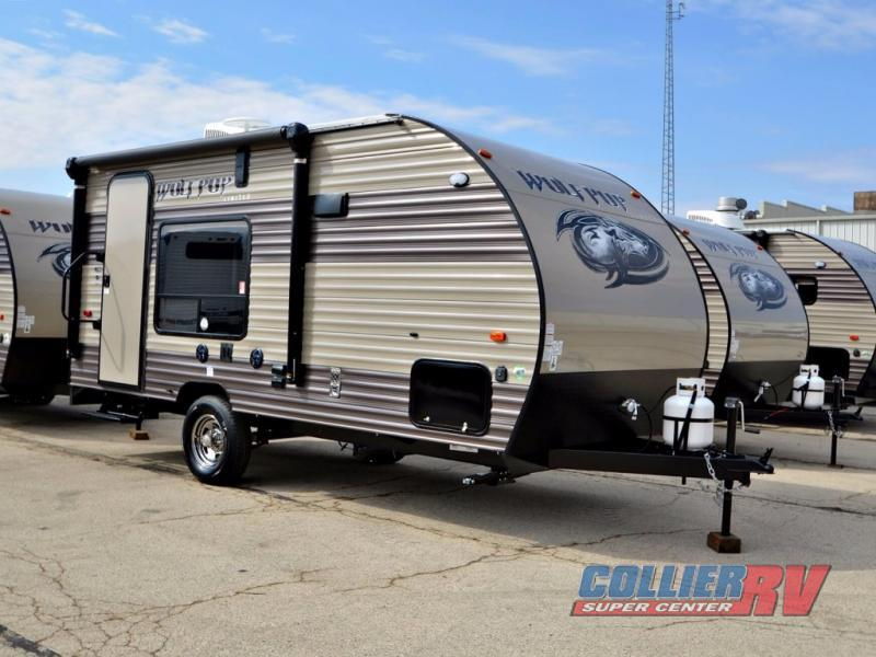 2018 Forest River Rv Cherokee Wolf Pup 17RP