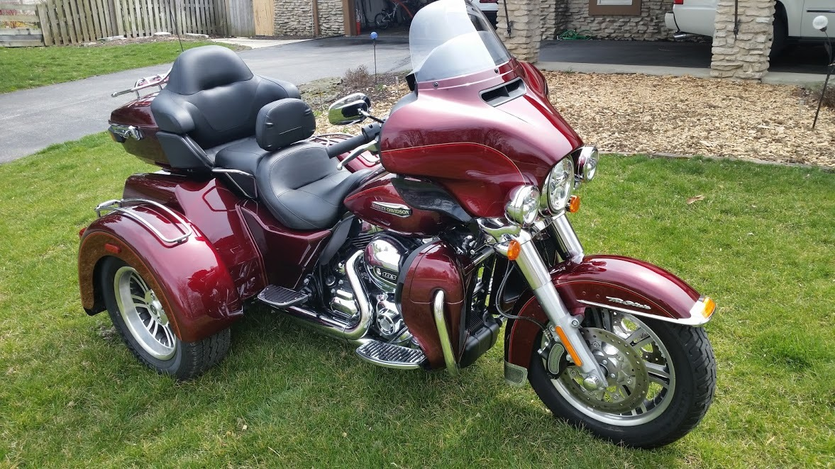 2018 Harley Davidson Tri Glide Ultra Review Total Motorcycle: Harley Davidson Tri Glide Ultra Motorcycles For Sale In
