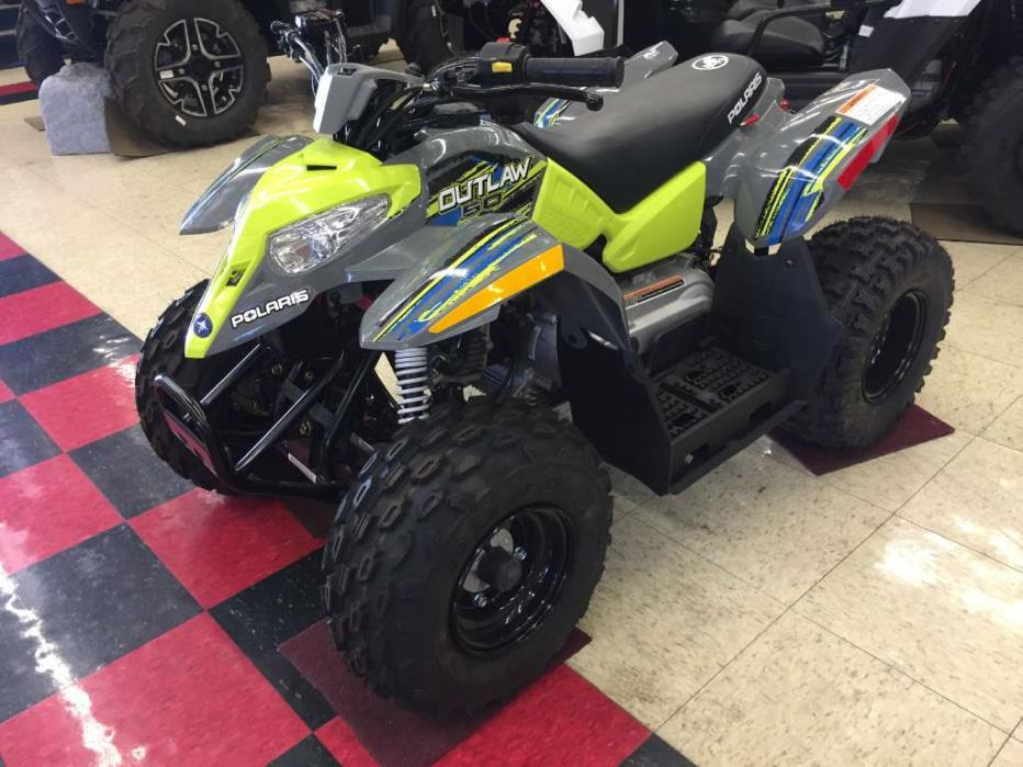 2017 Polaris Outlaw 50 Lime Squeeze