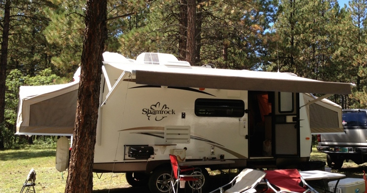 2014 Forest River FLAGSTAFF SHAMROCK 21SS