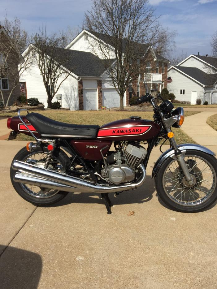 1975 Kawasaki MACH IV H2 750