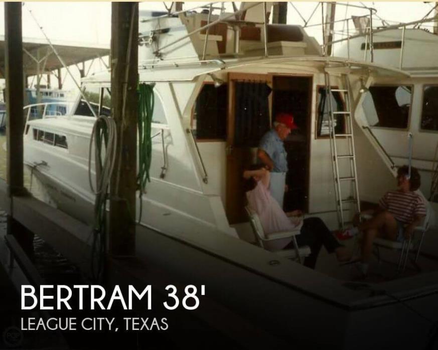 1963 Bertram 38 Sportfish