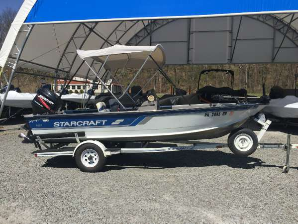 1996 STARCRAFT MARINE 160 FISHERMAN