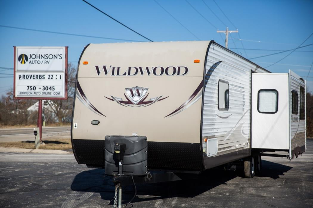 2014 Forest River WILDWOOD 27RKSS