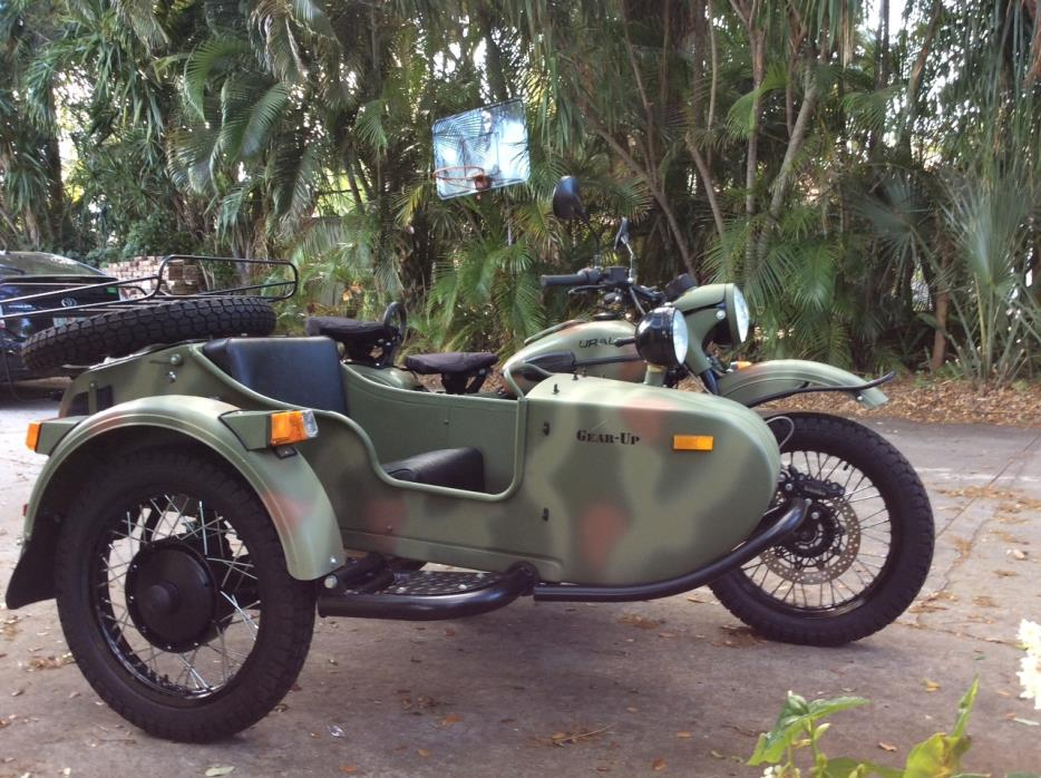 2013 Ural GEAR-UP 2WD