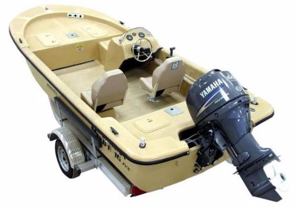 2016 Carolina Skiff JVX Series 16SC