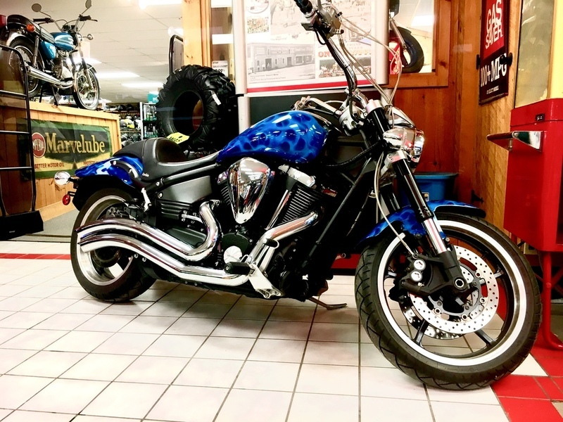 Yamaha warrior motorcycles for sale in maine for Yamaha motorcycles dealers near me