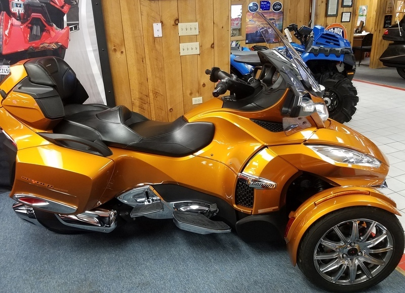 2014 Can-Am Spyder RT Limited 6 Speed semi-Automatic (SE6)