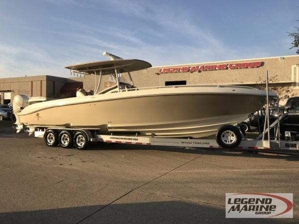 2013 STATEMENT MARINE 38 SUV OB