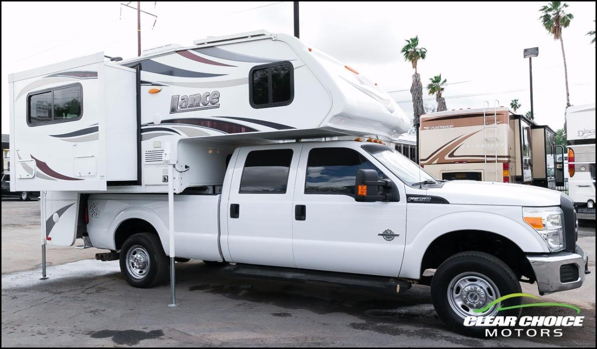 Lance Truck Camper Rvs For Sale