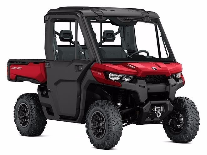 2017 Can-Am Defender XT CAB HD10