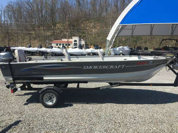 smoker craft pro mag boats for sale