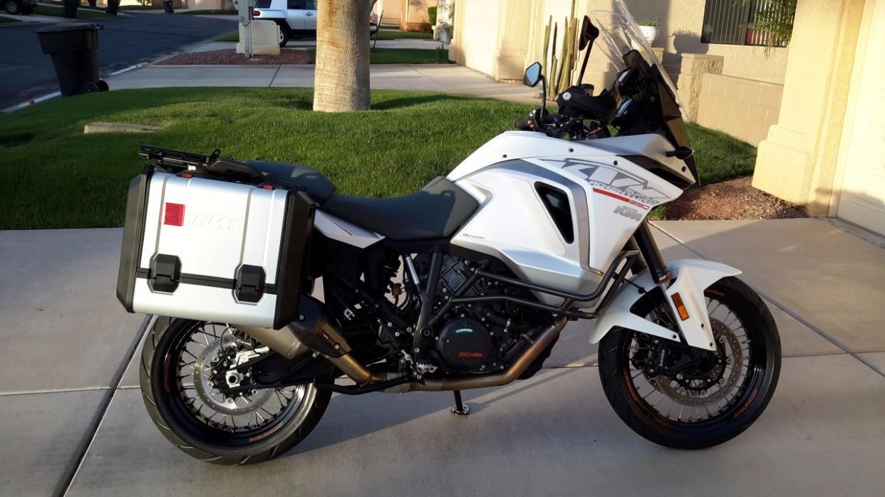 ktm 1290 super adventure motorcycles for sale. Black Bedroom Furniture Sets. Home Design Ideas