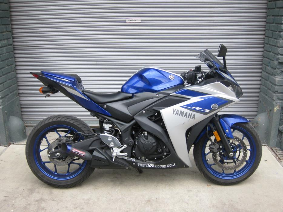 yamaha yzf r3 motorcycles for sale in louisiana. Black Bedroom Furniture Sets. Home Design Ideas