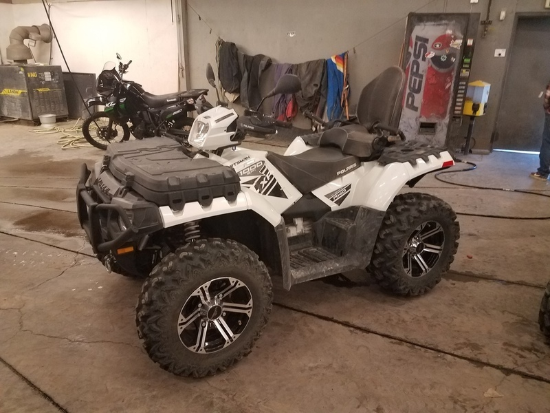 2015 Polaris Sportsman Touring XP 1000 Pearl White LE