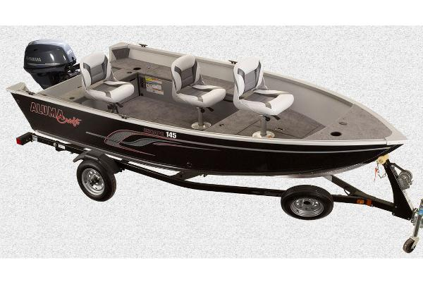 2016 Alumacraft Escape 145 Tiller