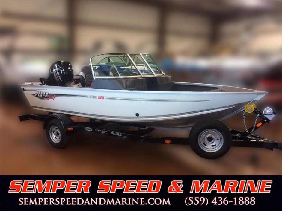 2017 Alumacraft Classic 165 Sport Upgraded