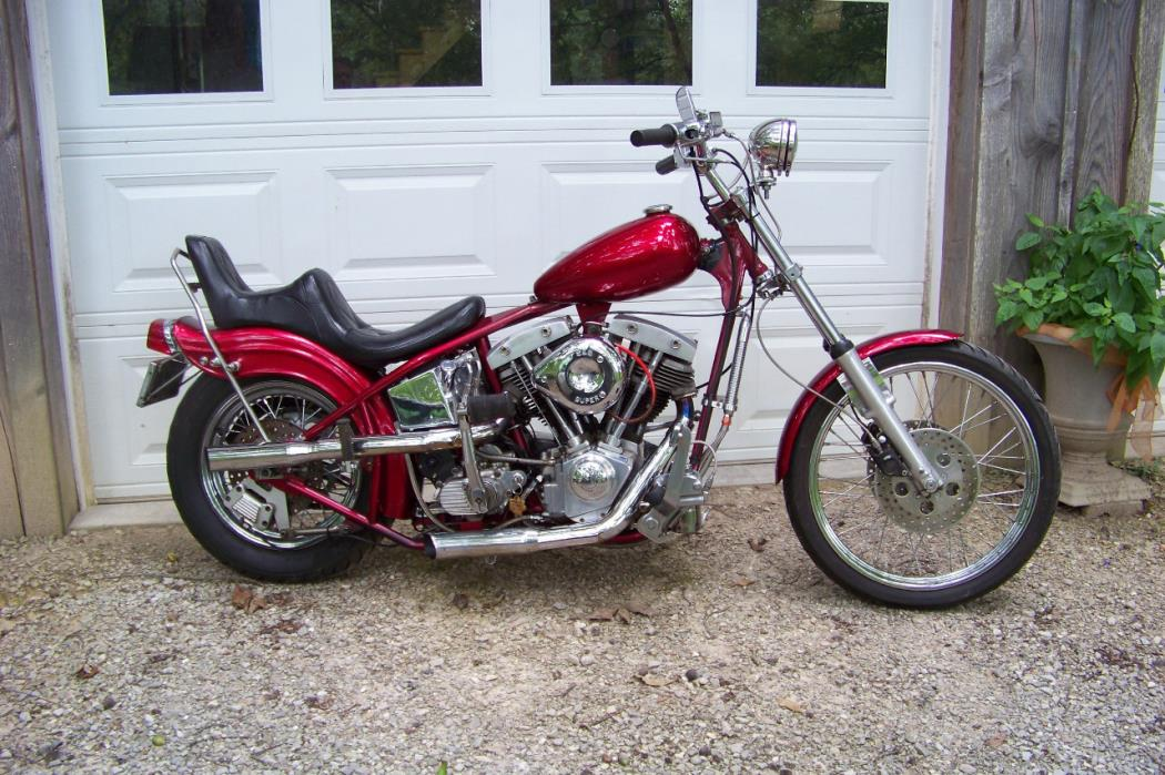 1976 Harley-Davidson CUSTOM HARDTAIL