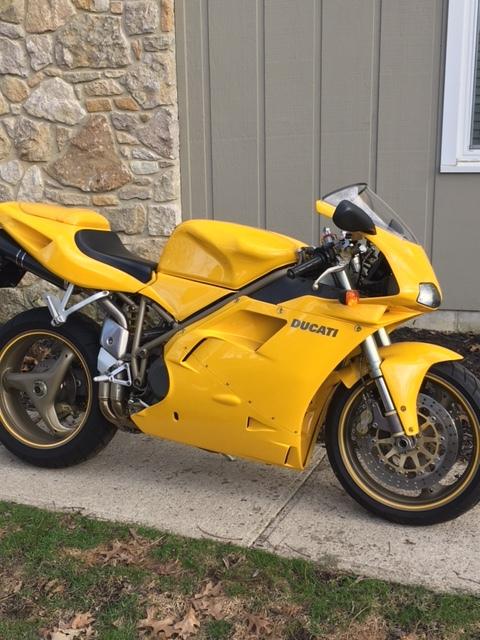 1999 Ducati 748 MONO