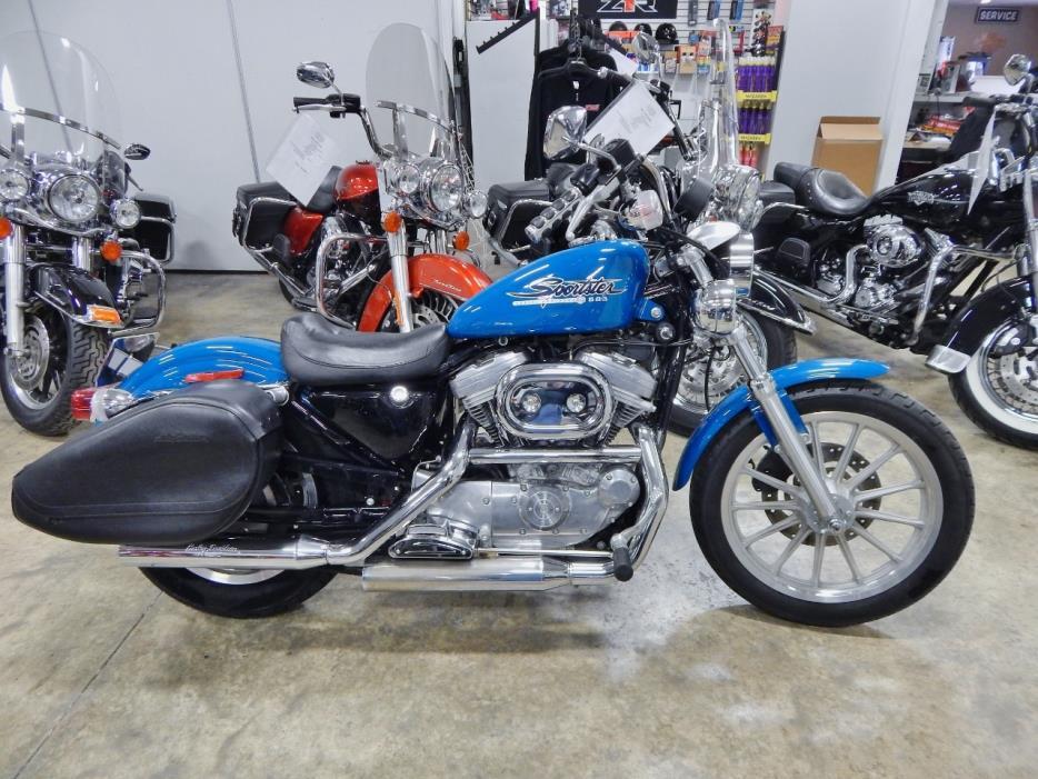 2001 Harley-Davidson XL883 Sportster 883 Hugger