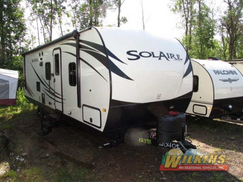 2016 Palomino SolAire Ultra Lite 267BHSE