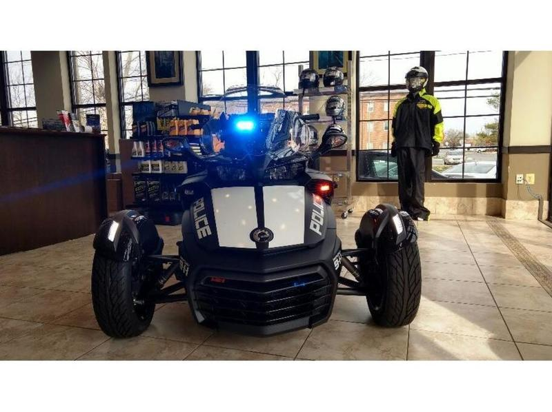 2017 Can-Am Spyder F3-S 6-Speed Semi-Automatic (SE6) Police Pkg