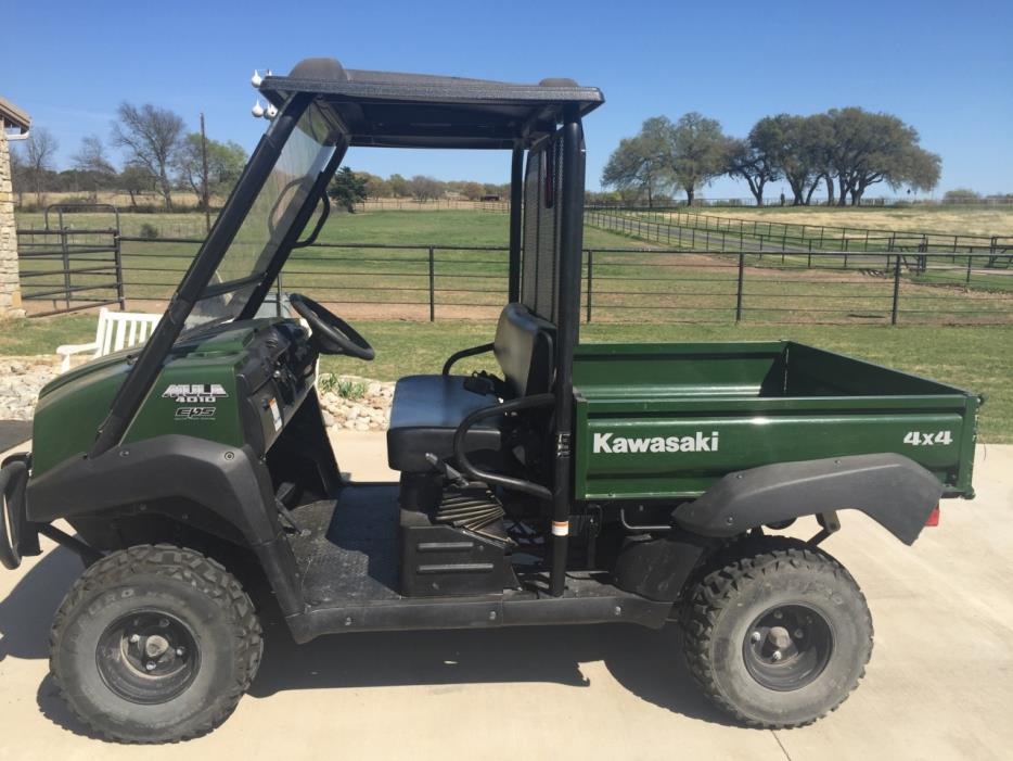 kawasaki mule 4010 4x4 motorcycles for sale in texas. Black Bedroom Furniture Sets. Home Design Ideas