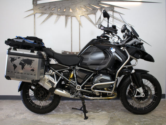 2017 BMW R 1200 GS Adventure Premium Black Storm Met/Dark Slate