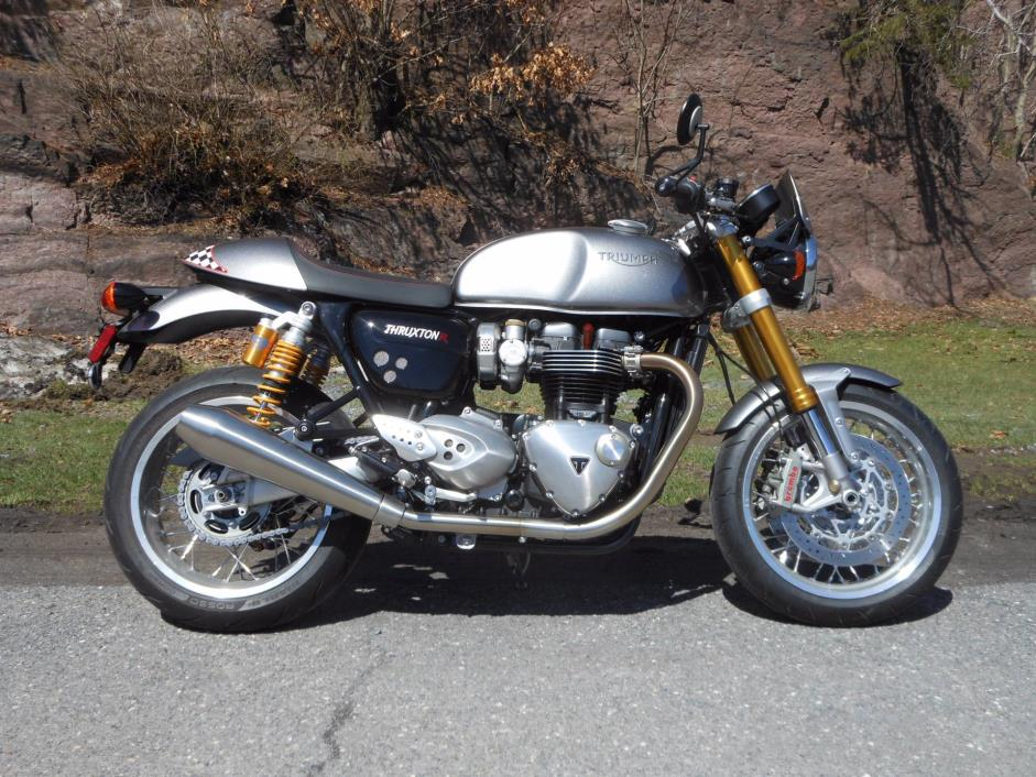 triumph thruxton 1200 motorcycles for sale in pennsylvania. Black Bedroom Furniture Sets. Home Design Ideas
