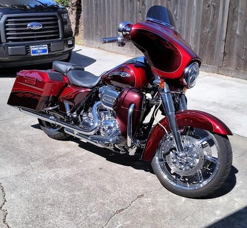 2012 Harley-Davidson STREET GLIDE CVO