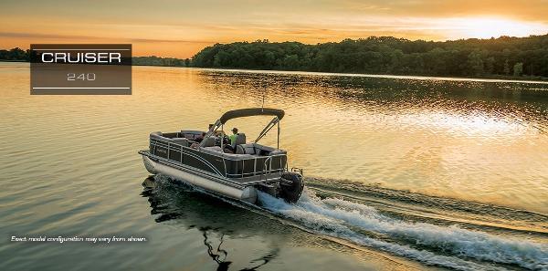 2017 Harris Pontoons Cruiser 240