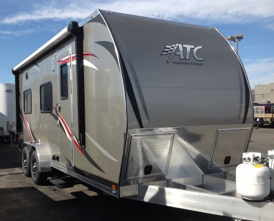 2017 Atc - Aluminum Trailer Company 7 X 20 Toy Hauler