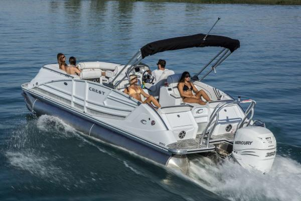 Crest savannah 250 nx slr2 vehicles for sale for Yamaha outboards savannah ga