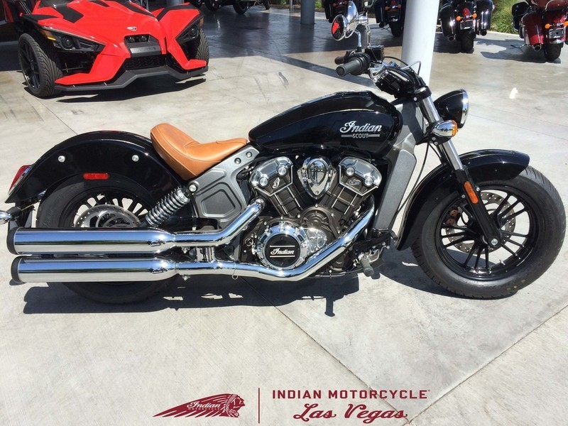 2017 Indian Scout Thunder Black