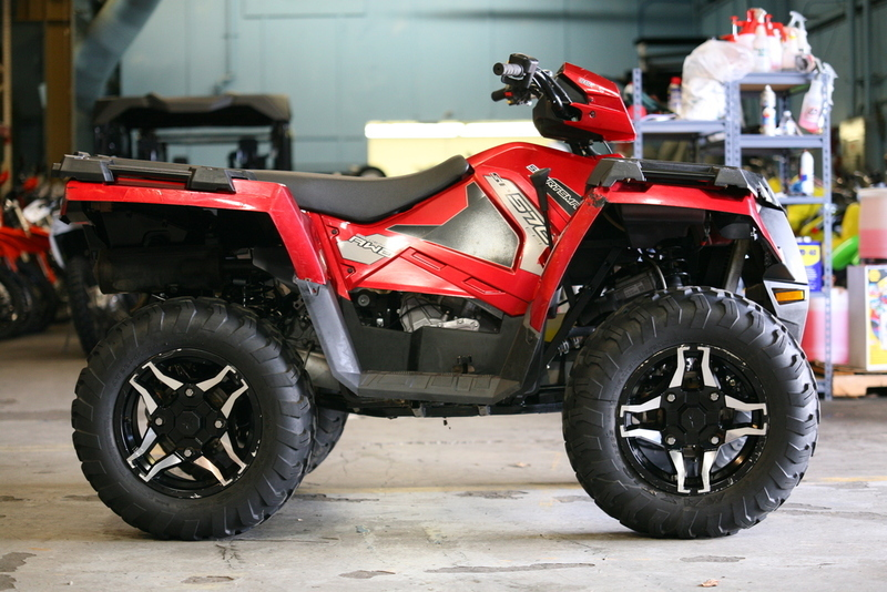 2015 Polaris Sportsman 570 SP EPS Sunset Red