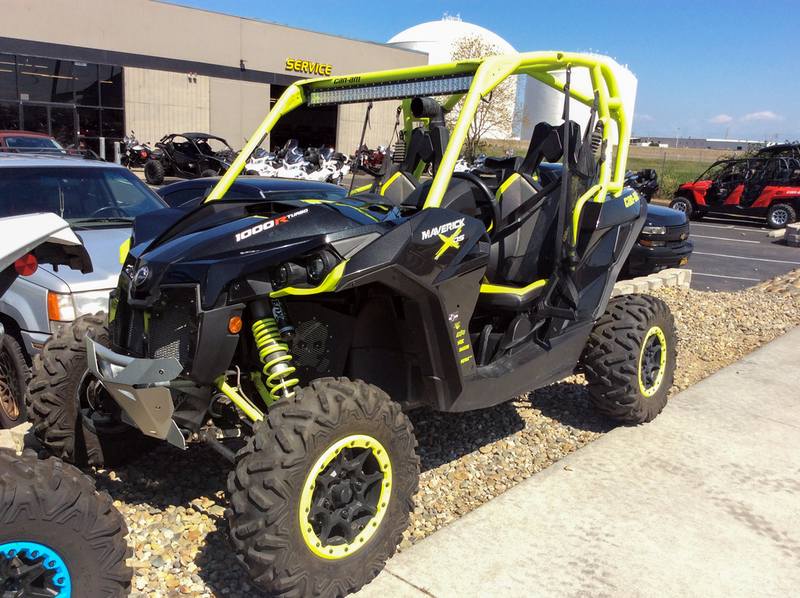 2015 Can-Am Maverick X ds 1000R Turbo Carbon Black & Manta Green