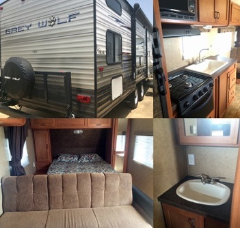 2013 Forest River CHEROKEE GREY WOLF 26BH