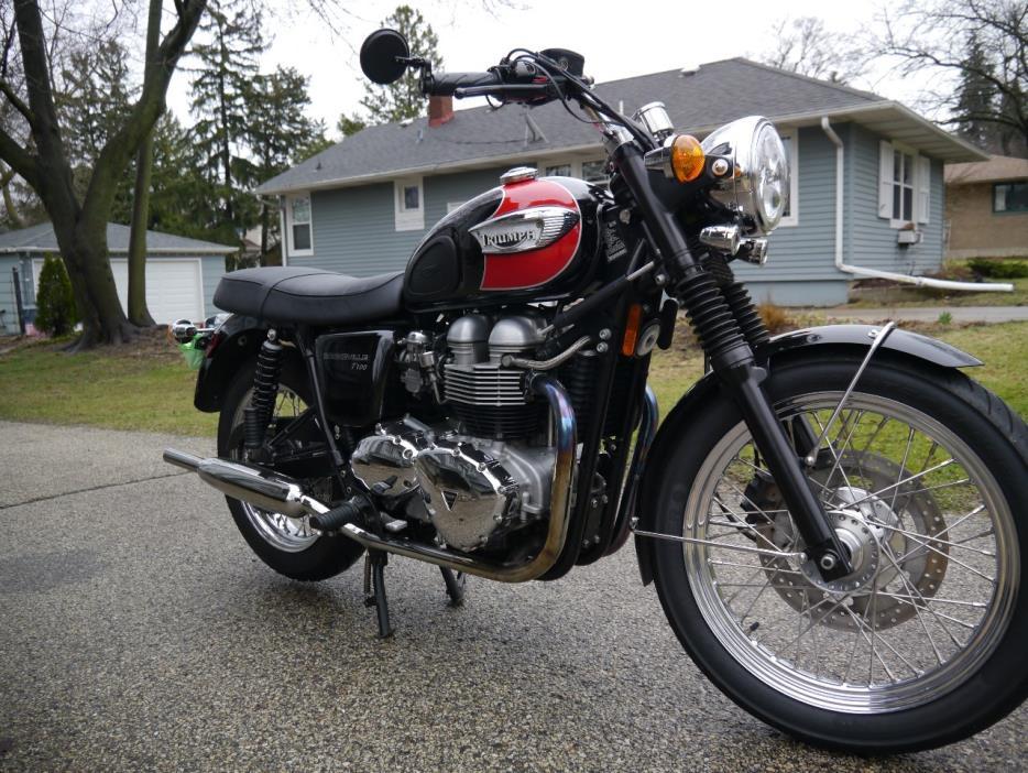 triumph bonneville t100 motorcycles for sale in illinois. Black Bedroom Furniture Sets. Home Design Ideas