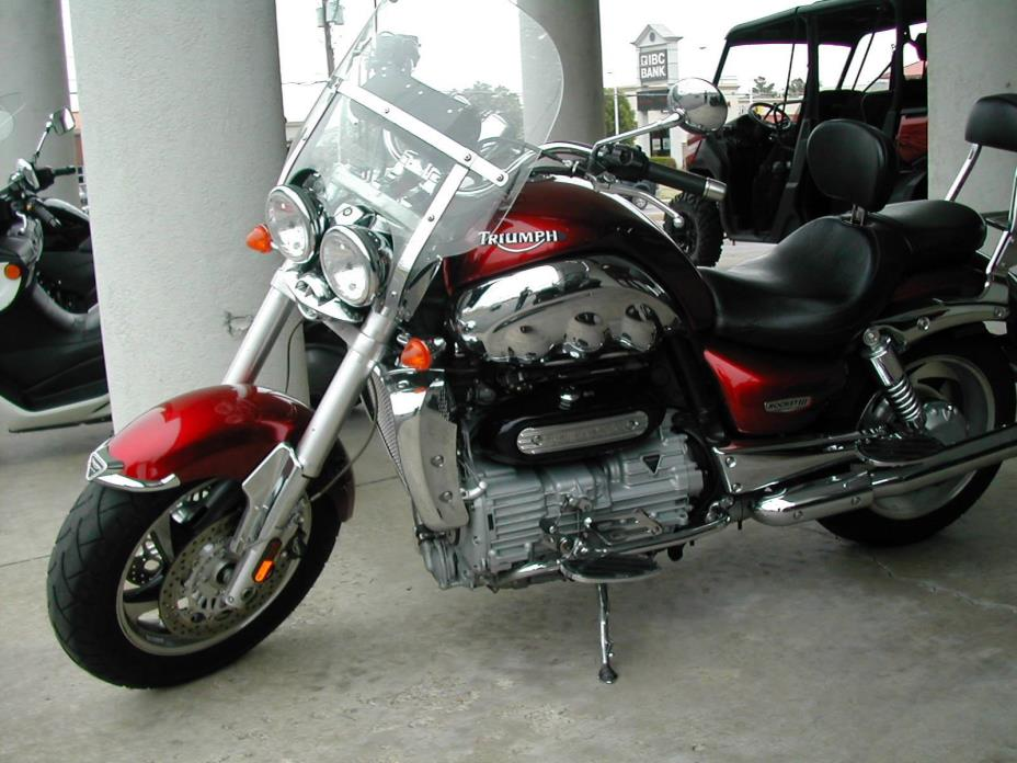 triumph rocket iii motorcycles for sale in oklahoma. Black Bedroom Furniture Sets. Home Design Ideas