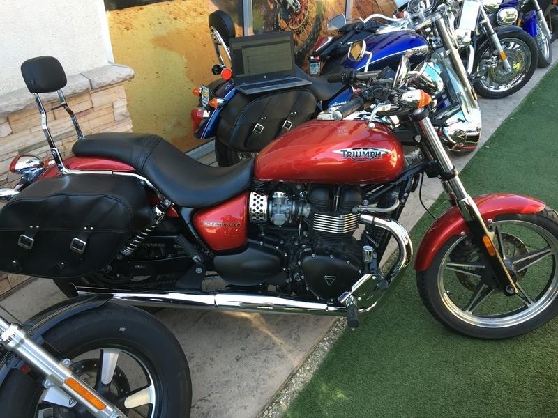 2012 Triumph Speedmaster Standard