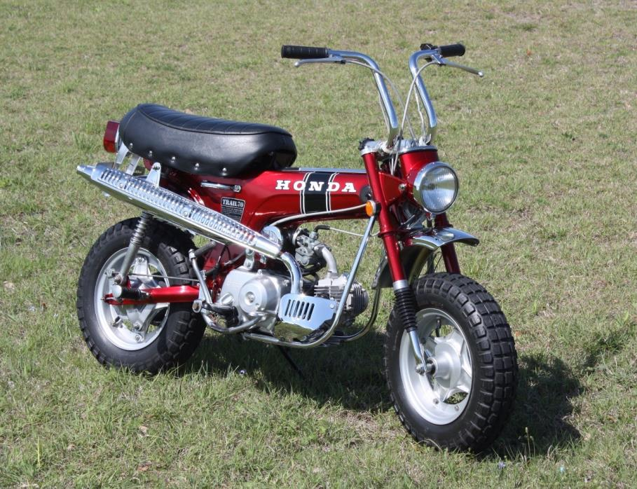 Honda ct70 motorcycles for sale 1972 honda ct 70 trail sciox Image collections