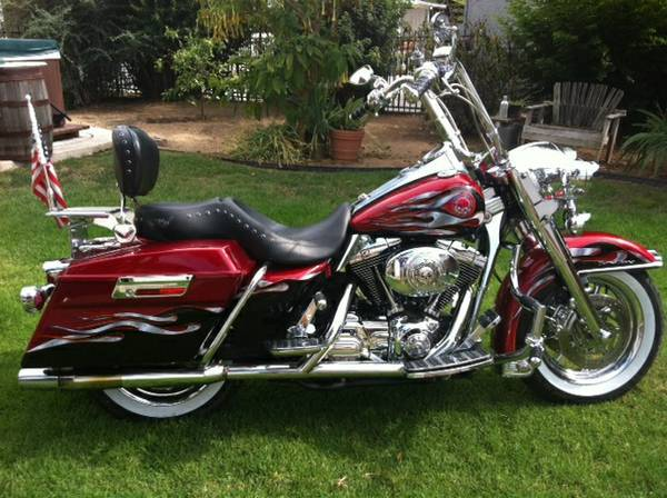 harley davidson road king custom motorcycles for sale in riverside california. Black Bedroom Furniture Sets. Home Design Ideas