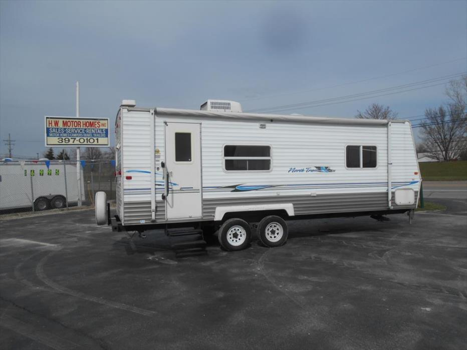 2004 Skyline Nomad 250 RKS - Sofa Slide