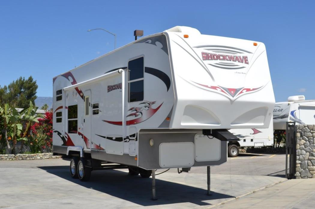 2009 Forest River SHOCKWAVE 32SP