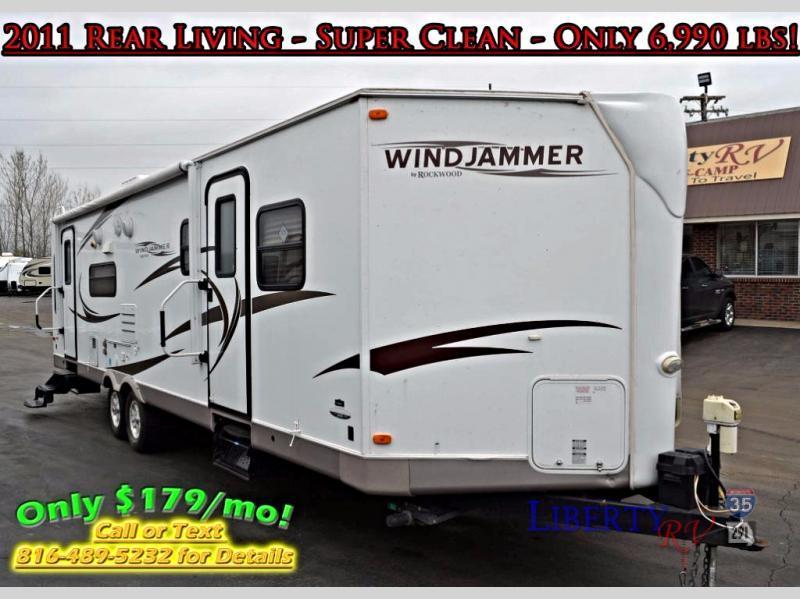 2011 Forest River Rv Rockwood Wind Jammer 3001W