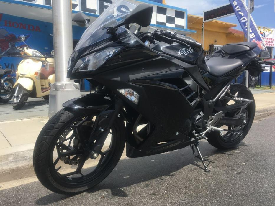 kawasaki ninja 300 motorcycles for sale in miami beach florida. Black Bedroom Furniture Sets. Home Design Ideas