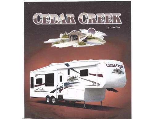2008 Forest River CEDAR CREEK FIFTH WHEEL 37CKQS