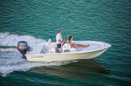 2017 Sportsman Boats 18 ISLAND BAY