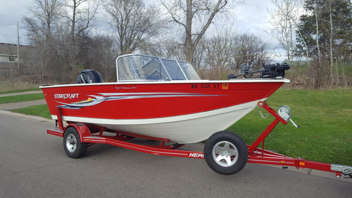 2008 Starcraft 170 SUPER FISHERMAN